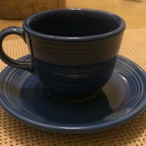 Fiesta cup and saucer